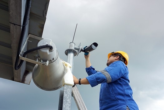 Commercial Security Camera Installation Service