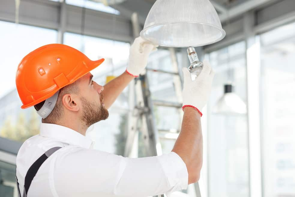 Commercial Lighting Installers